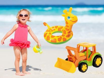Zabawowy niezbędnik na plażę