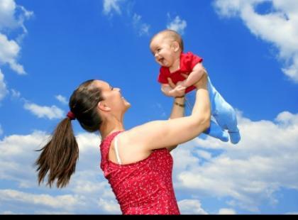 Zabawy dla maluchów - do 3 miesiąca