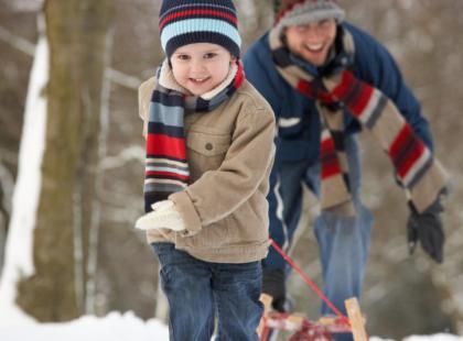 Zachowaj ostrożność podczas zimowych zabaw!