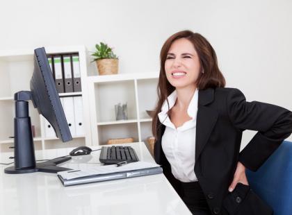 Zadbaj o plecy i szyję w pracy