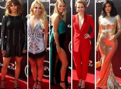 Zainspiruj się: Berry, Spears, Woźniacki i inne gwiazdy na imprezie ESPY