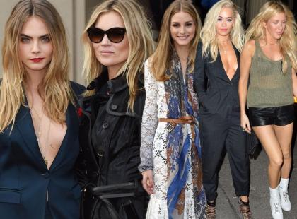 Zainspiruj się lookami gwiazd z London Fashion Week