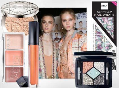 Zainspiruj się makijażem z pokazu: romantyczne pastele