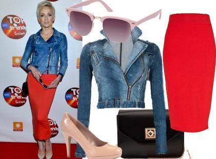 Zainspiruj się wiosenną stylizacją Anny Wyszkoni