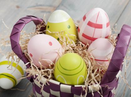 Zajączek i jajko - wielkanocne elementy dekoracyjne!