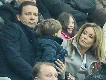 Zakochani Majdan i Rozenek zabrali dzieci na mecz
