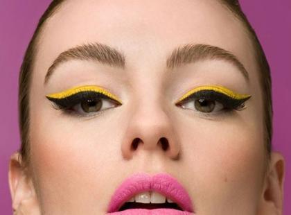 Zakręcony eyeliner