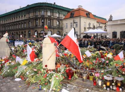 Żałoba Narodowa w Warszawie