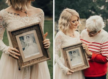 Założyłabyś na ślub suknię z 1962 roku? Ta dziewczyna tak zrobiła i nie żałuje!