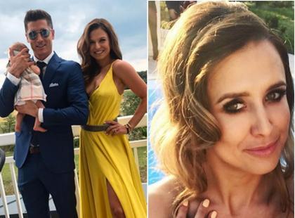 Założyły wystrzałowe kreacje i wybrały ten sam kolor. Żona i siostra Lewandowskiego razem na weselu: która lepiej wyglądała?