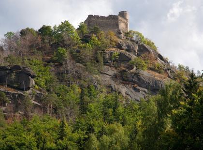 Zamek Chojnik w Karkonoszach