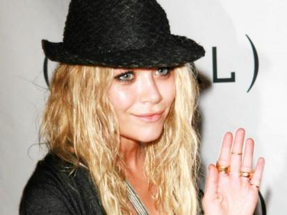 Zaokrąglona Mary Kate Olsen