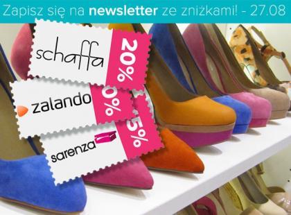 Zapisz się na kupony rabatowe na buty!