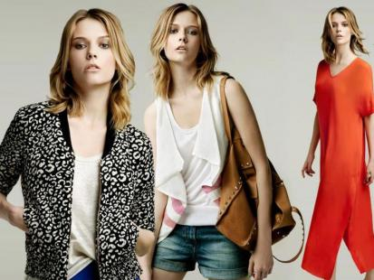 Zara - majowy lookbook 2011