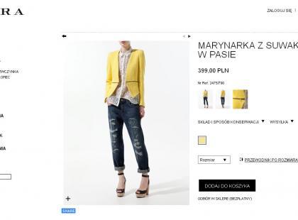 Zara otwiera sklep internetowy!