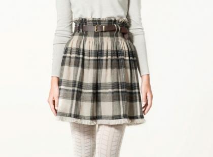Zara - spódnice na jesień i zimę 2010/2011