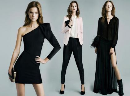 Zara - sylwestrowo-świąteczny lookbook 2011