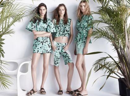 ZARA: wiosnę i lato 2014 spędzamy w tropikach