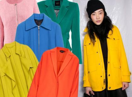 Zatrzymujemy lato: kurtki i płaszcze w intensywnych kolorach