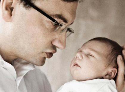 Zbigniew Ziobro z synkiem