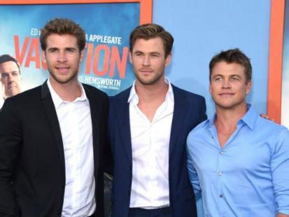 Zdecydowanie najprzystojniejsi bracia w Hollywood razem na premierze