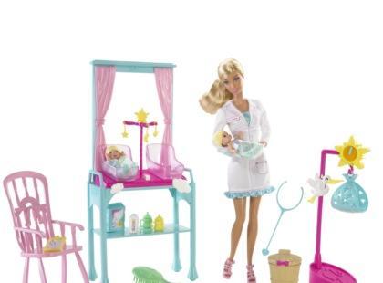 Zdecyduj, jaki będzie nowy zawód Barbie