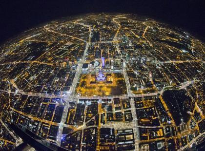 Zdjęcia stolicy z ponad 3 km wysokości?! Musisz to zobaczyć