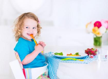 Zdrowa dieta małego dziecka - co to znaczy?