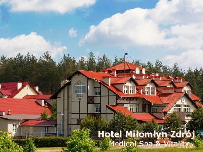 Zdrowe odchudzanie w Hotelu Miłomłyn Medical SPA & Vitality