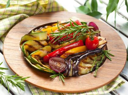 Zdrowe pieczone warzywa na wiosnę
