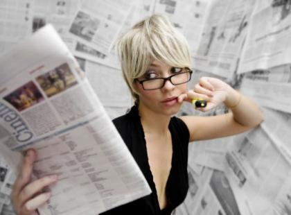 Zdrowie mężczyzn w kobiecych czasopismach
