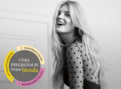 Ze złocistymi refleksami i idealnie błyszczący blond!