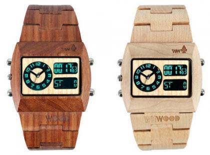 Zegarki jak z drewna od WeWOOD