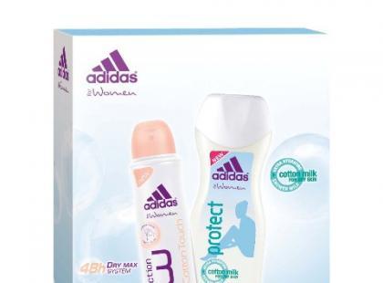 Zestaw: antyprespirant i żel pod prysznic - Adidas
