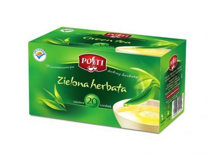 Zielona herbata ekspresowa POSTI