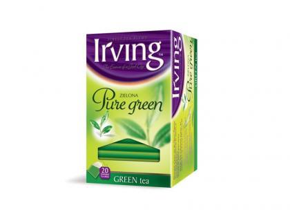 Zielone herbaty Irving