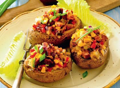 Ziemniaki faszerowane możesz przygotować na 2 sposoby
