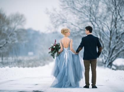 Zima jako idealna pora na ślub? Przekonujemy, że ta właśnie jest!