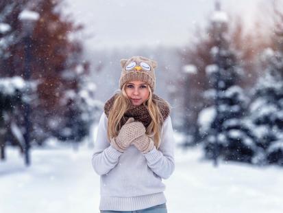 Zimno, coraz zimniej… Jak radzić sobie z mrozem i się nie przeziębić? 7 ważnych zasad