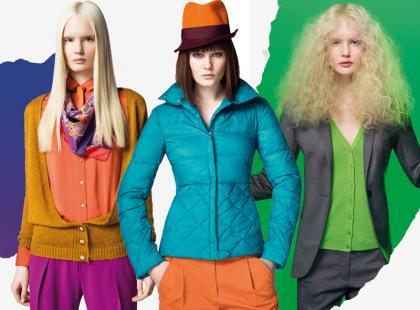 Zimowa kampania Benetton jak zwykle w mocnych kolorach