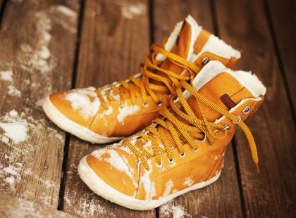 Zimowe kłopoty z... butami