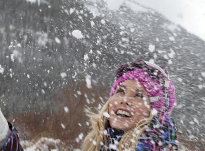 Zimowy spacer na wyższych obrotach