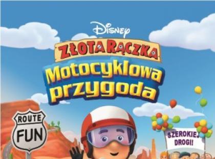 """""""Złota Rączka: Motocyklowa przygoda"""" już na DVD!"""