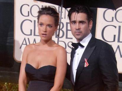 Złote Globy 2010: Znane pary