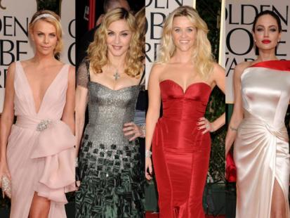 Złote Globy 2012 - Gwiazdy na czerwonym dywanie