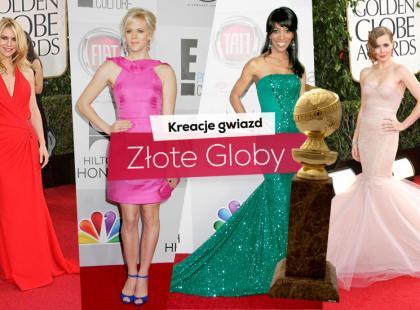 Złote Globy 2013 - styl gwiazd!