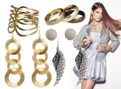 Złote i srebrne dodatki na karnawał