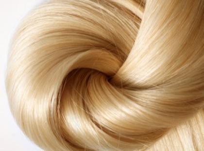 Zmiana koloru z rudego na blond