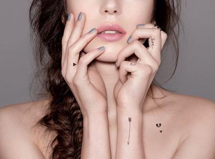 Zmywalne tatuaże do twarzy i ciała - hit czy kit?