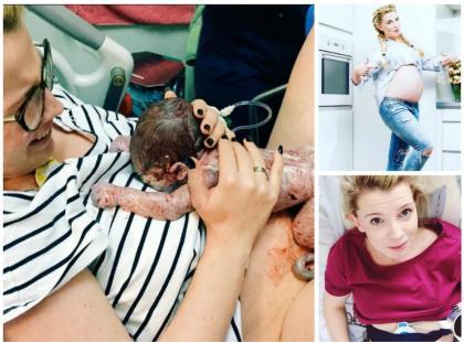 Znana blogerka pokazuje bardzo intymne zdjęcie z porodu. Przesada czy piękno narodzin?